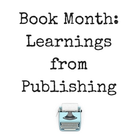 Learnings from Publishing