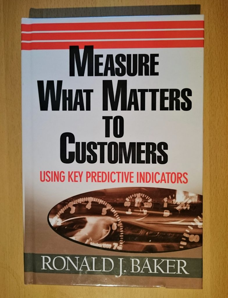Measure What Matters to Customers book cover