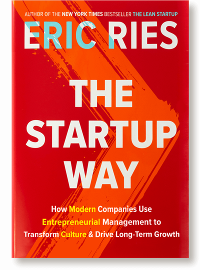 Win a copy of The Startup Way