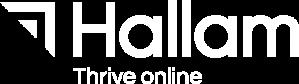 Hallam-Logo-Thrive-White